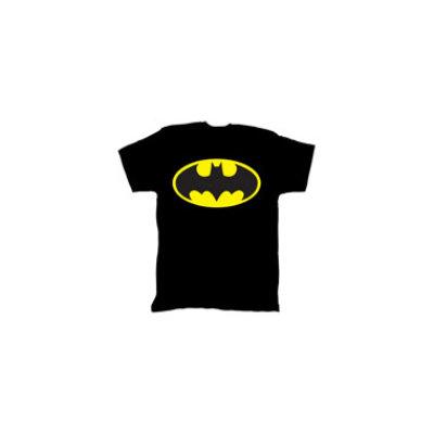Bio World Merchandising Batman Bright Logo Mens Tee - XLarge