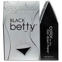 Betty Beauty Color for the Hair Down There - Black Betty