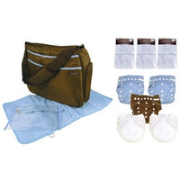 Trend Lab Cloth Diaper Starter Pack, Boy (Discontinued by Manufacturer)