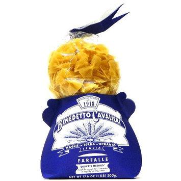Benedetto Cavalieri Farfalle Semolina Pasta, 17.6 oz