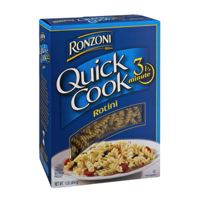 Ronzoni Quick Cook Enriched Macaroni Product Rotini