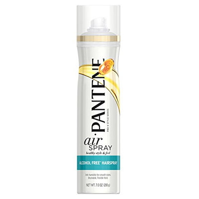 Pantene Pro-V Smooth Airspray Alcohol Free Hair Spray, 7 oz