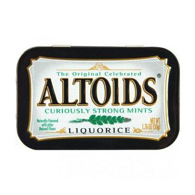 Altoids Curiously Strong Liquorice Mints