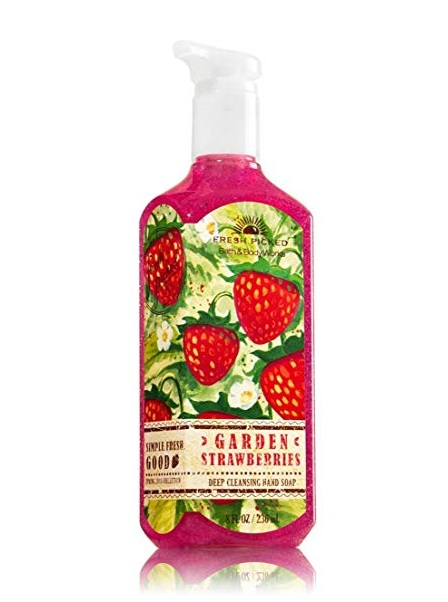 Bath & Body Works® Fresh Picked GARDEN STRAWBERRIES Gentle Foaming Hand Soap