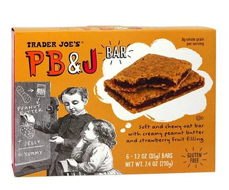 TRADER JOE'S® Pb&j Peanut Butter & Strawberry Bar