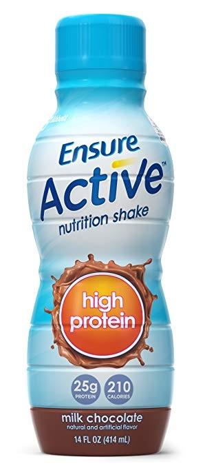 Ensure® Active High Protein Milk Chocolate Shake