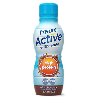 Ensure® Active High Protein Milk Chocolate Shake