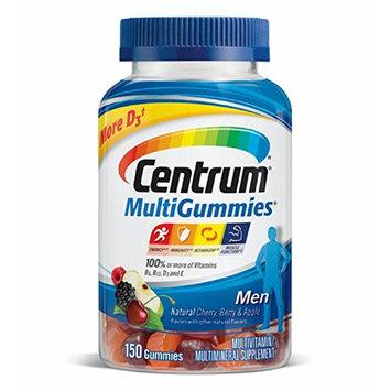 Centrum® Men MultiGummies Natural Cherry, Berry, Apple Flavor