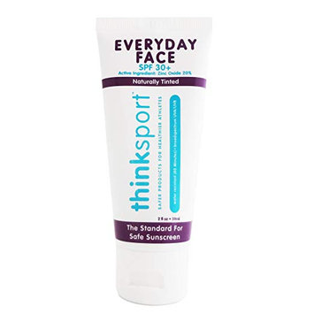 Thinksport® Everyday Face Spf 30+ Naturally Tinted Sunscreen