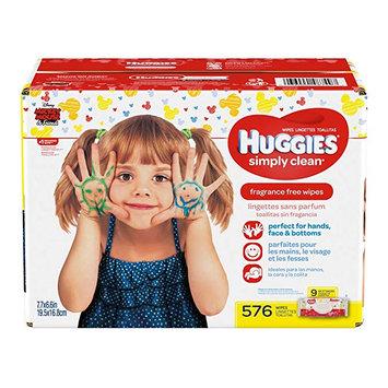 Huggies® Simply Clean® Fragrance-Free Baby Wipes