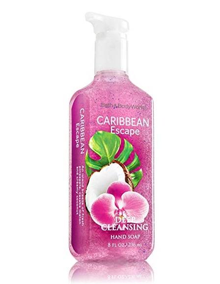 Bath & Body Works® CARIBBEAN Escape Deep Cleansing Hand Soap
