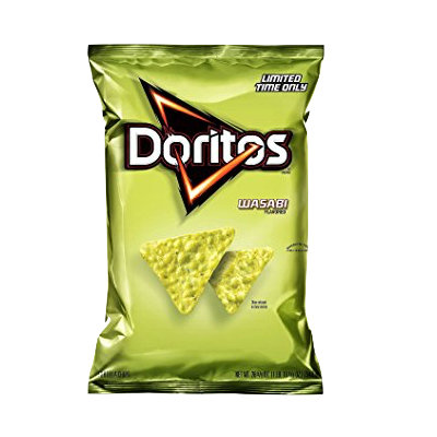 DORITOS® Wasabi Flavored Tortilla Chips