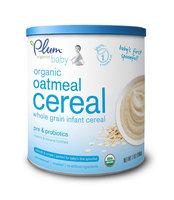 Plum Organics Oatmeal Cereal