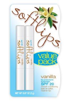 Softlips Lip Protectant Sunscreen SPF 20 French Vanilla