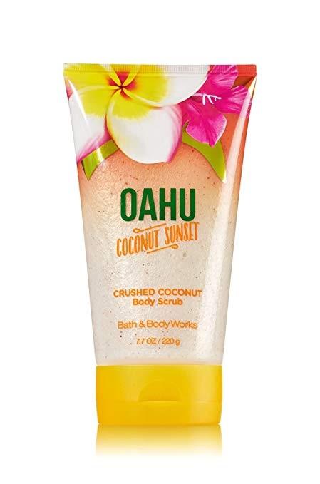 Bath & Body Works® OAHU COCONUT SUNSET Crushed Coconut Body Scrub