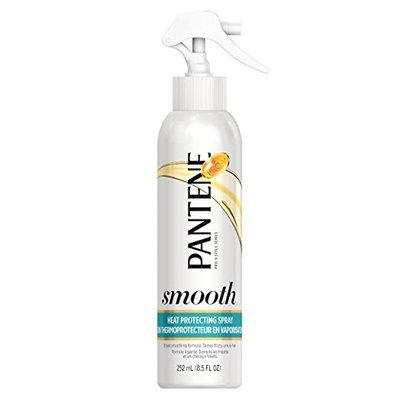 Pantene Smooth and Sleek Heat Protecting Spray, 8.5 oz