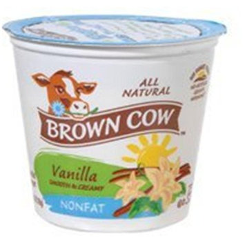 BCWEST Brown Cow Low Fat Vanilla Yogurt, Size: 32 Oz (Pack of 6)