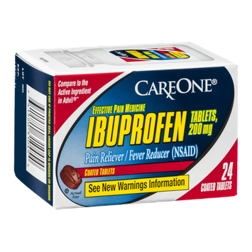 CareOne Ibuprofen Tablets 200 mg - 24 CT
