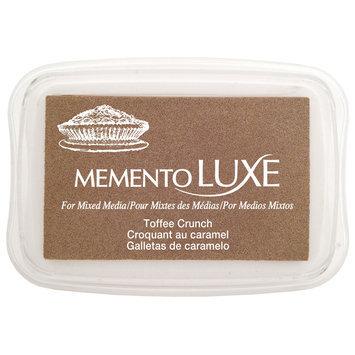 Tsukineko Inc. Tsukineko Memento Luxe Full Size Inkpad Toffee Crunch