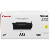 Canon CNMCRTDG332Y Toner Cartridge, 6400 Page Yield, Yellow
