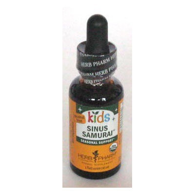 Kids Sinus Samurai Herb Pharm 1 oz Liquid