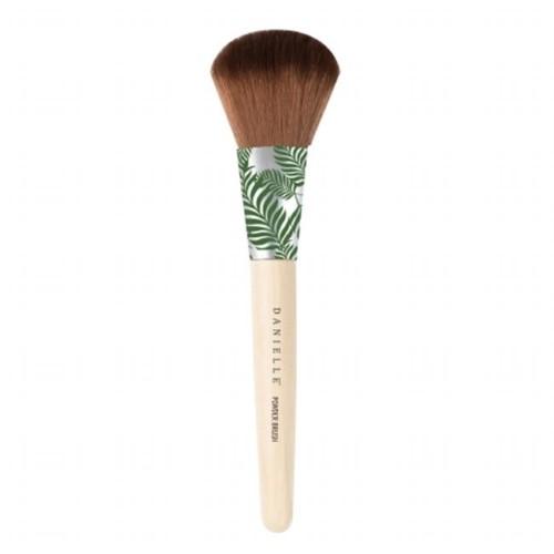 Upper Canada D3654GR Bamboo Palm Powder Brush Green Palm