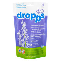 Dropps Laundry Scent Pacs, 16ct, Lavender, 7.8 fl oz