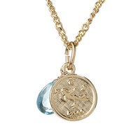a.v. max Virgo Zodiac Charm Necklace