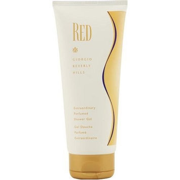 Red By Giorgio Beverly Hills For Women. Shower Gel 6.7-Ounce