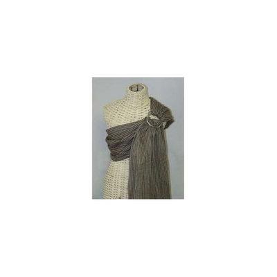 Maya Wrap LPS-8-L Baby Sling- Brown Stripe- LARGE