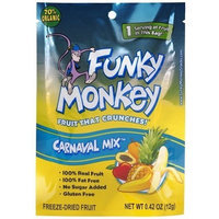 Funky Monkey Dried Fruit, Carnaval Mix, 0.42-Ounce (Pack of 12)