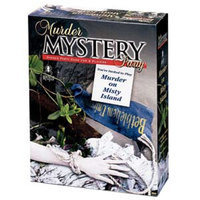 Murder On Misty Island Murder Mystery Party Game Ages 18+