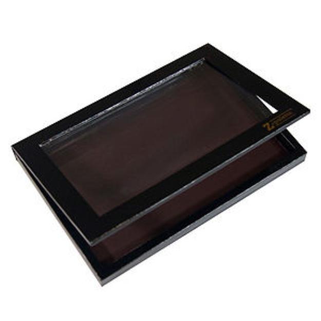 Z Palette Empty Magnetic Customizable Makeup Palette DOME, Black, 1 ea