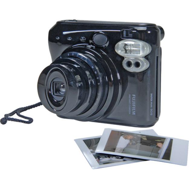 Fujifilm Instax Mini 50S Instant Print Camera, Piano Black
