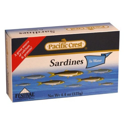 Pacific Crest Sardines in Water, 4.4-Ounce, (Pack of 50)