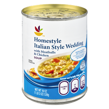 Ahold Homestyle Italian Style Wedding Soup