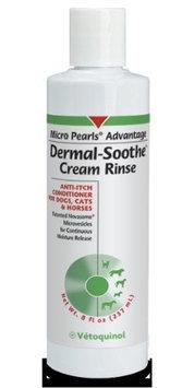 Vetoquinol Micro Pearls Dermal-Soothe Anti-Itch Cream Rinse (8 oz)
