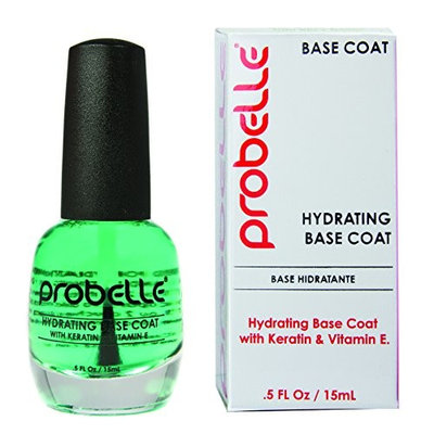 Probelle Hydrating Base Coat, Clear, .5 Fluid Ounce