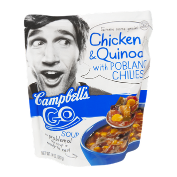 Campbell's® Go Soup Chicken Quinoa with Poblano Chilies