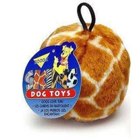 Booda Pet Products Skins Ball Giraffe Dog Toy