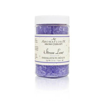 Stress Less By Aroma- Inhalation Beads 2.5 Oz Blend Of Lavender- Chamomile- And Sage