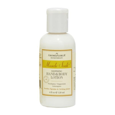 Aromafloria Muscle Soak Hand Body Lotion