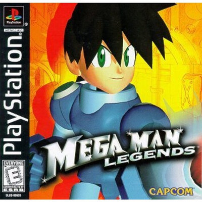 Capcom MegaMan Legends