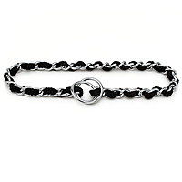 Booda Products Comfort Chain Collar Black 3mm X 20inch