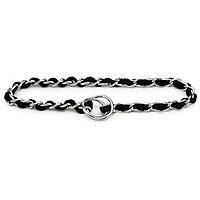 Booda Products Comfort Chain Collar Black 3mm X 22inch