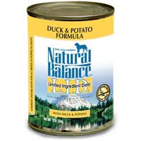 Natural Balance L.I.D. Can Dog Duck 13 oz