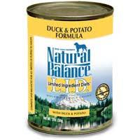 Natural Balance L.I.D. Can Dog Duck 13 oz
