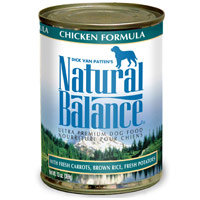 Natural Balance Ultra Premium Dog Canned Food - Chicken