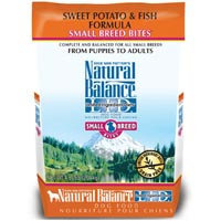 Natural Balance Limited Ingredient Diets Sweet Potato & Fish Formula Small Breed Bites Dry Dog Food