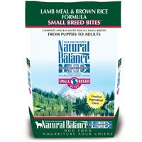 Natural Balance Limited Ingredient Diets Lamb Meal & Brown Rice Formula Small Breed Bites